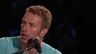 Coldplay Up In Flames En Vivo (Subtitulado)