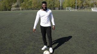 The Stadium défi le chanteur Makassy au foot
