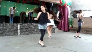 Dança dos 3°s na Confraternização -2009