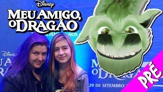 Meu Amigo, O Dragão Pré Estréia Disney Refilmagem Desenho 1977 (Filme, Pete's Dragon, Premiere)