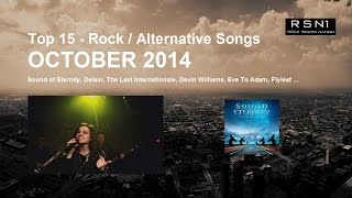 Top 15 - Rock & Alternative Songs - October 2014
