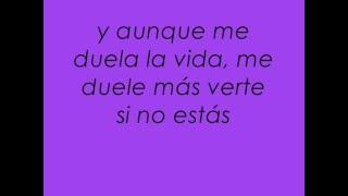 Morat - Cuanto me duele (letra/lyrics)