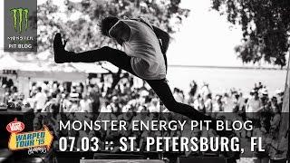 2015 Monster Energy Pit Blog: St Petersburg