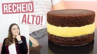 BOX CAKE - BOLO COM RECHEIO SUPER ALTO