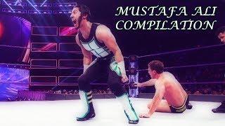 [WWE] Mustafa Ali-Rolling Neckbreaker/Facebuster & 054 Splash Compilation