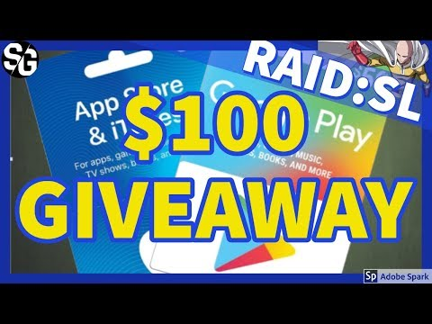 [RAID SHADOW LEGENDS] $100 GIVEAWAY!
