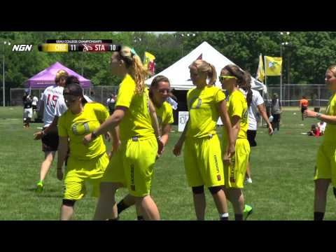 Video Thumbnail: 2014 College Championships, Women's Pool Play: Oregon vs. Stanford