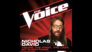"Nicholas David: ""You're The First, The Last, My Everything"" - The Voice (Studio Version)"