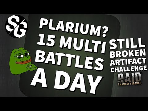 [RAID SHADOW LEGENDS] - REALLY PLARIUM? 15 AUTO RUNS A DAY - ART CHALLENGE STILL BROKEN