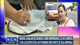 Nueva junta directiva del STENEE demandará a Miguel Aguilar
