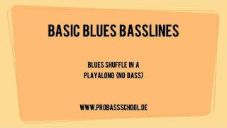 Blues Basslines Basics 1 - Playback (no bass)