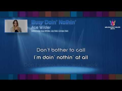 ace-wilder-busy-doin-nothin-on-screen-lyrics-djpomf
