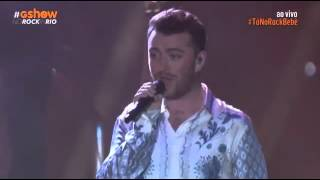 SAM SMITH live goodbay