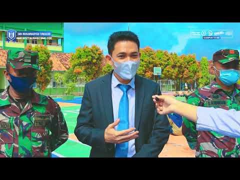 Ketarunaan SMK Muhammadiyah Tumijajar Bersama TNI