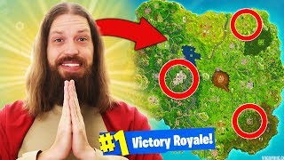 *JESUS* HELPS ME WIN Fortnite Battle Royale
