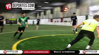 Boca Jr vs. Coalcoman Semifinal Champions Liga Latinoamericana Martes