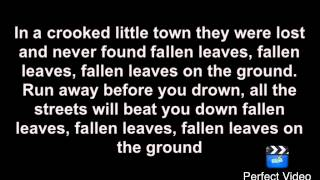 Billy Talent- Fallen Leaves (Official Lyric video)