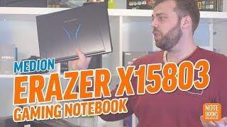 Medion Erazer X15803 Gaming Notebook im Unboxing - Deutsch / German