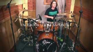 Jorge & Mateus - Flor  |  Lucas Baudson (Drum Cover)