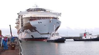 Construção do maior navio do mundo: Symphony of the Seas será a nova aventura em alto mar