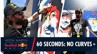 60 Seconds with No Curves! | Razor sharp skils at the Monaco Grand Prix