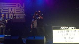 dj premier with his live band london