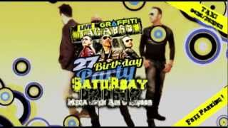 ✖✖✖ Tacabro LIVE@Graffiti 27 YEARS - 02/06/2012 - MEGA OPEN AIR & INDOOR ✖✖✖