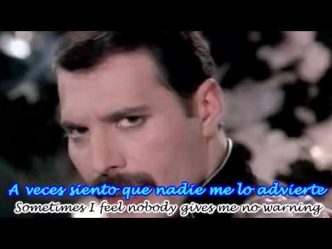 Living On My Own En Espanol de Freddie Mercury Letra y Video