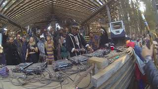 Marques Wyatt sunrise set at Oregon Eclipse Gathering