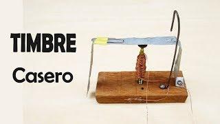 Como Hacer un Timbre Casero Eléctrico sin Motor Tutorial Explicado Paso a Paso