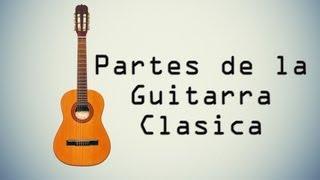 Partes de la Guitarra Clásica (Perfecto)