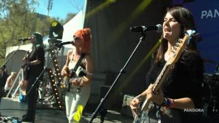 "Bleached ""Wednesday Night Melody"" - Pandora SXSW 2016"