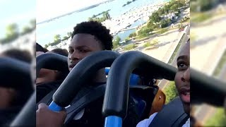 Man Faints, Wakes Up Screaming In Terror Three Times On Roller Coaster