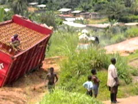 Bad roads to my village (Nguti) Cameroon..pt 2