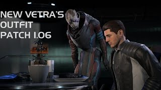 Mass Effect: Andromeda - New Vetra's romance outfit (Patch 1.06)