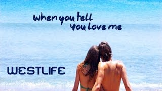 When you tell you love me - Westlife - Ft.  Diana Ross (tradução) HD