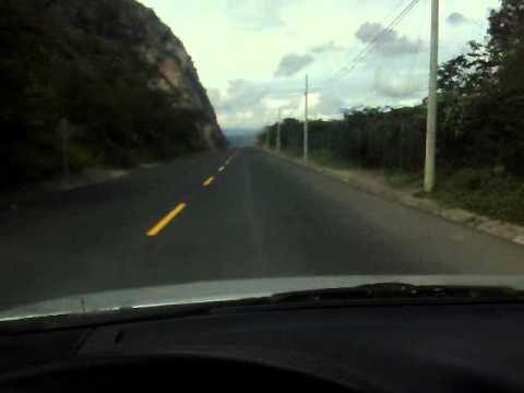 Manejando en el Valle del Chota, Imbabura, Ecuador.