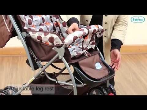 Babyhug Cosy Cosmo Stroller-0