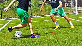 How To Humiliate Your Opponent with Nutmeg & Panna Skills like CR7/Neymar/Séan Garnier
