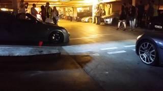 Underground car culture meet maserati revs fiesta
