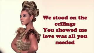 Beyoncé  -  Heaven  | Official ( Video  Lyrics ) On Screen