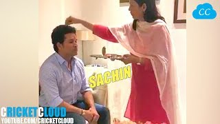 SACHIN Tendulkar Raksha Bandhan FULL VIDEO !!