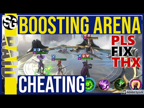 RAID SHADOW LEGENDS | CHEAT IN ARENA | BOOST + BROKEN ARENA