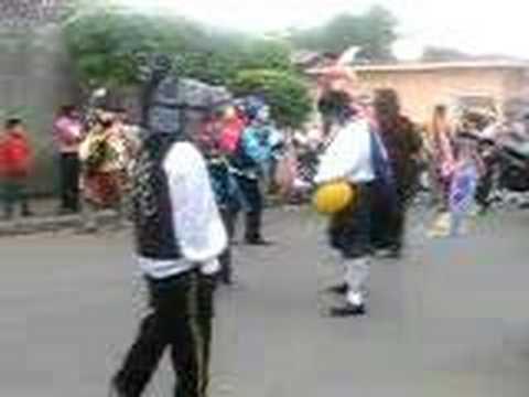 Baile de los Diablos en Masaya, Nicaragua December 2007
