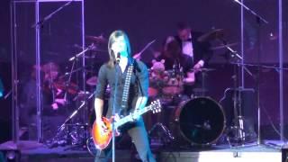 Scream Inc с симфоническим оркестром в Запорожье - cover show Metallica - Fuel