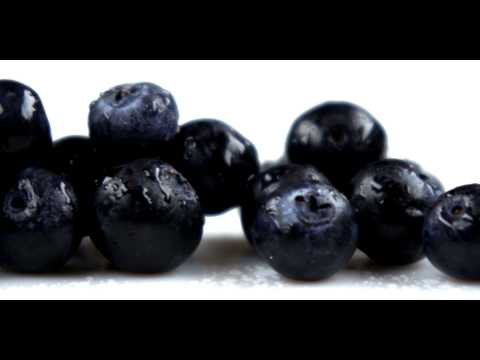 Royalty Free Stock Footage of Close up slow pan across blueberries.