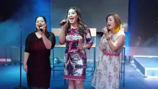 Manilyn Reynes, Tina Paner and Sheryl Cruz singing together #MTBSGMapToYourHeart