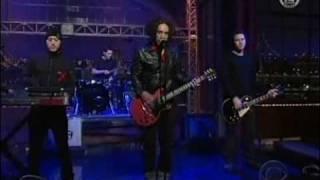 She Wants Revenge - Tear You Apart (Live Letterman 2006)