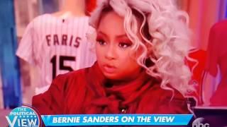 Bernie Sanders funny reaction on The View