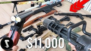 Silo's Crazy $11,000+ Airsoft Weaponry Collection (RARE WEAPONS)